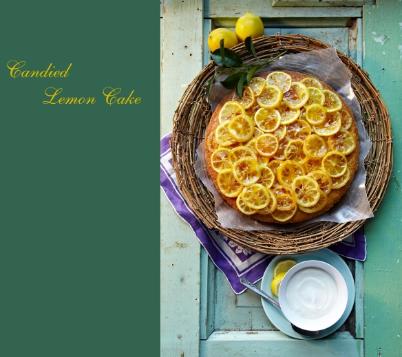 Candied Lemon Cake