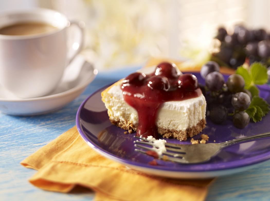 Cheesecake concord grape