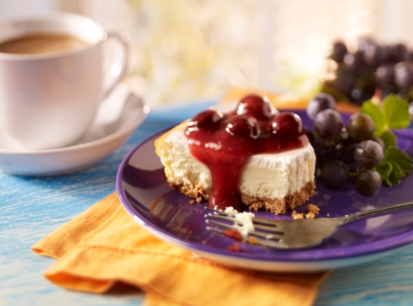 Cheesecake concord grape
