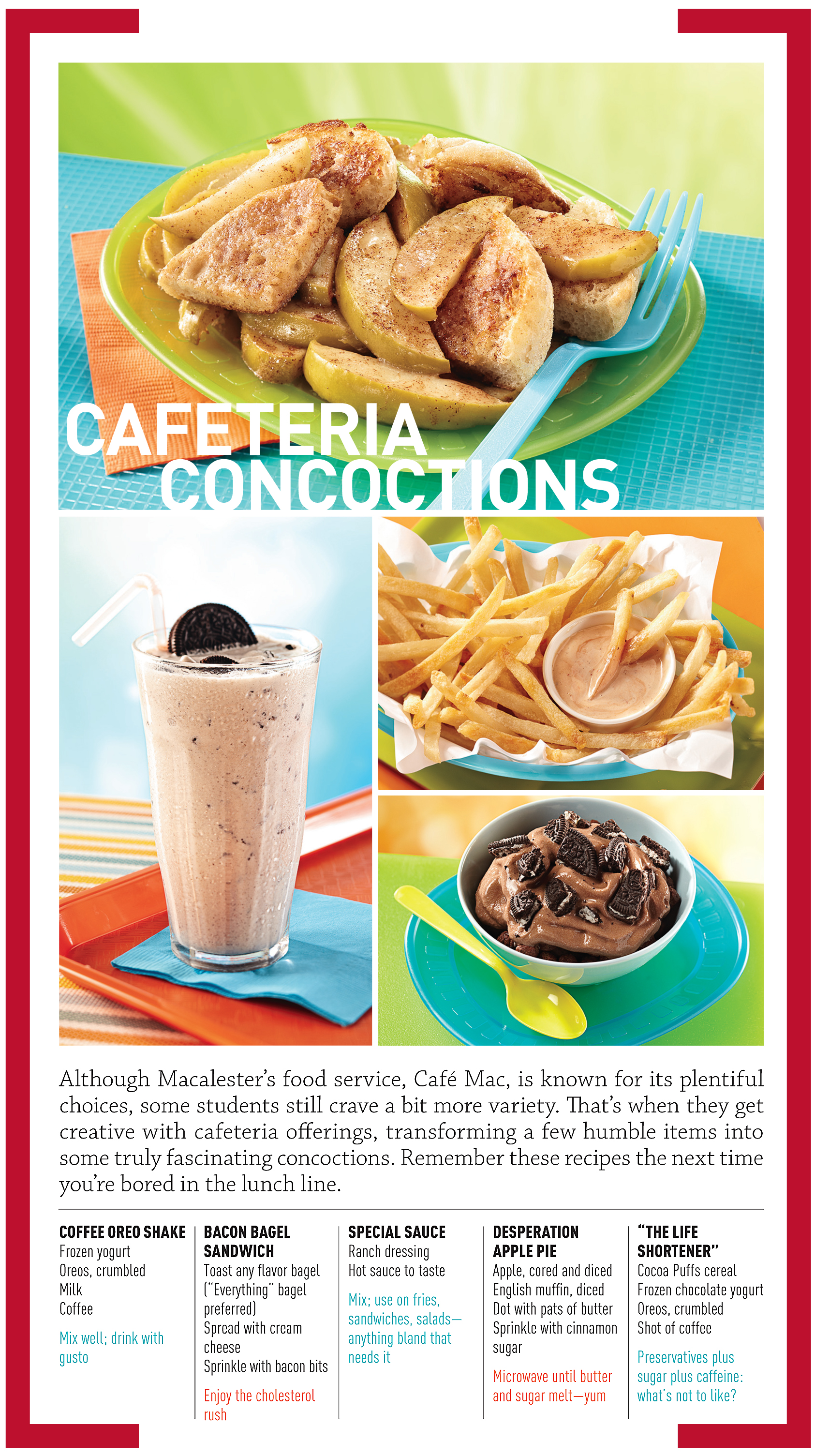 The Story Is Recipes From Students Who Come Up With Creative Food Ideas Cafeteria Offerings