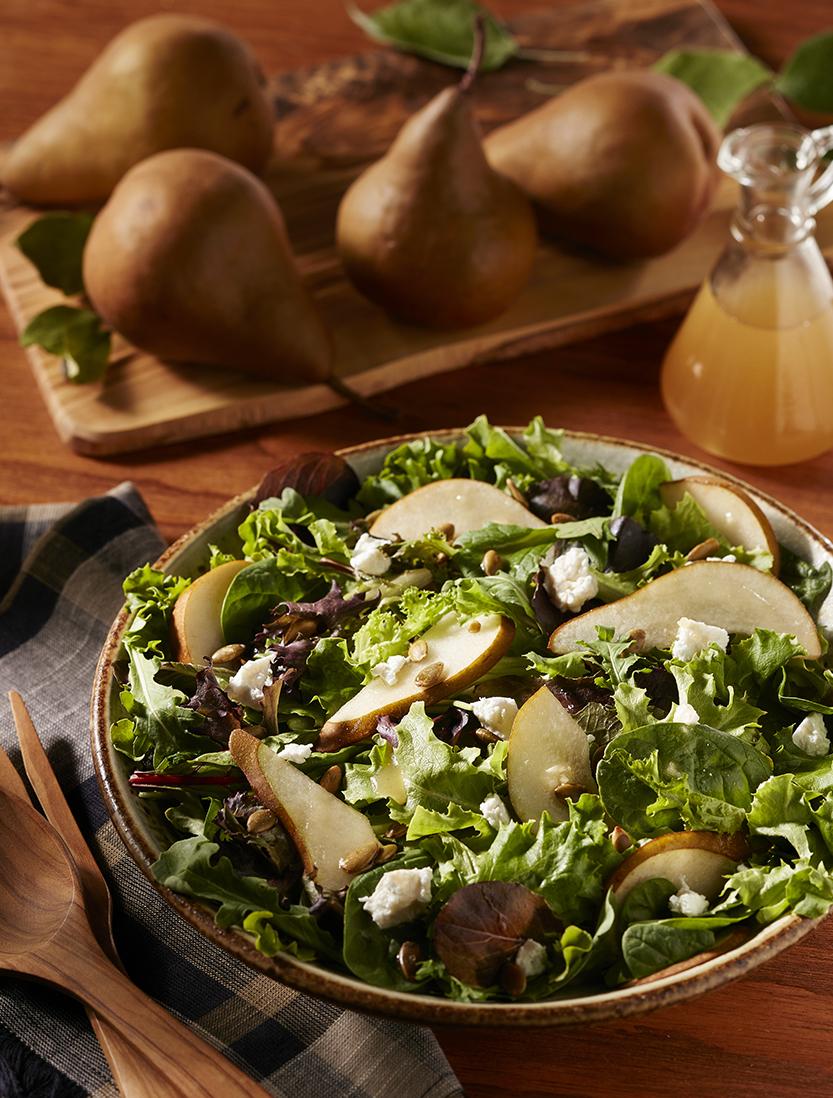 SaladPearGoatcheese